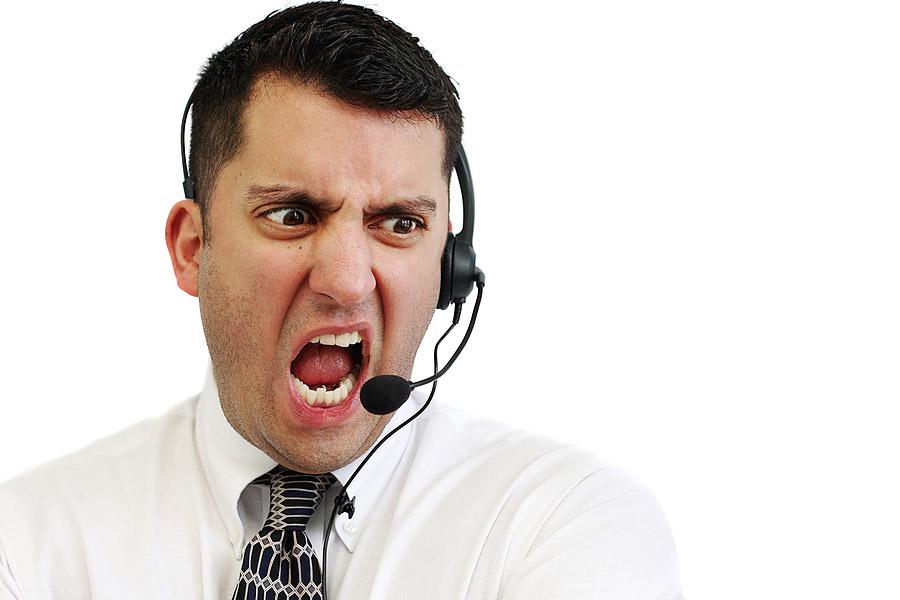کلمات و جملات کارآمد در برخورد با مشتریان عصبانی