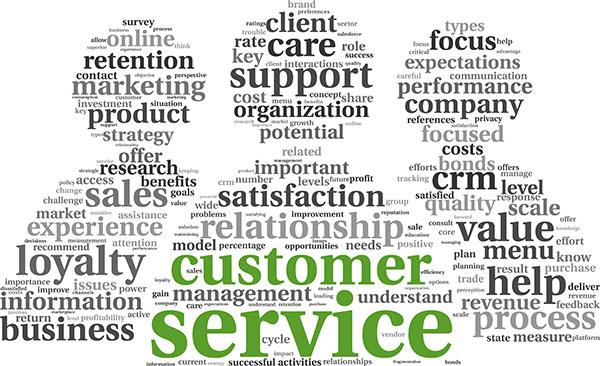کیفیت خدمات مشتریان