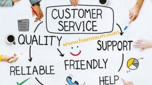 تعامل با مشتریان