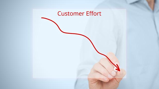 کاهش میزان تلاش مشتری در مرکز تماس